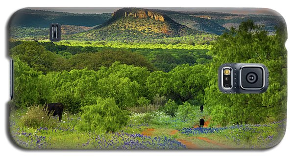 Texas Hill Country Ranch Road Galaxy S5 Case