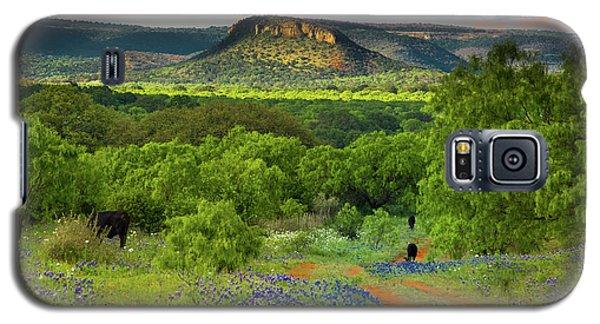 Texas Hill Country Ranch Road Galaxy S5 Case by Darryl Dalton