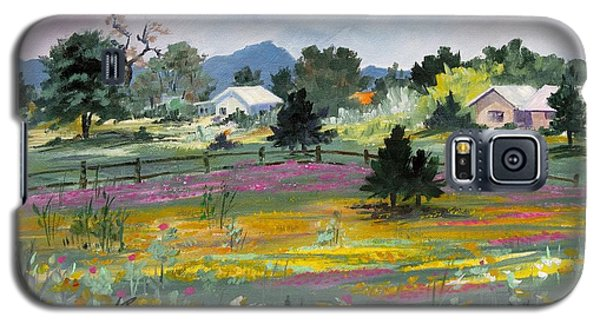 Texas Hillcountry Flowers Galaxy S5 Case
