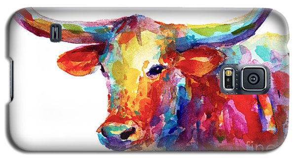 Texas Longhorn Art Galaxy S5 Case by Svetlana Novikova