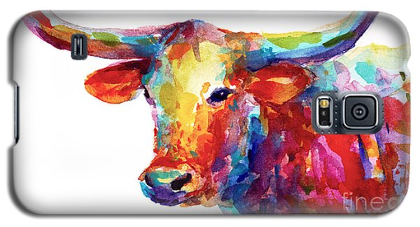 Texas Longhorn Art Galaxy S5 Case