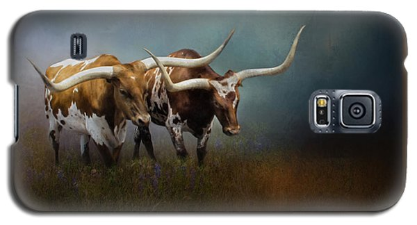 Texas Longhorn Pair Galaxy S5 Case
