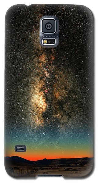 Texas Milky Way Galaxy S5 Case by Larry Landolfi