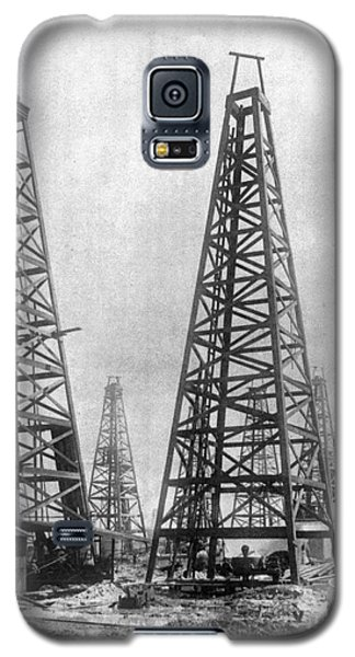 Texas: Oil Derricks, C1901 Galaxy S5 Case