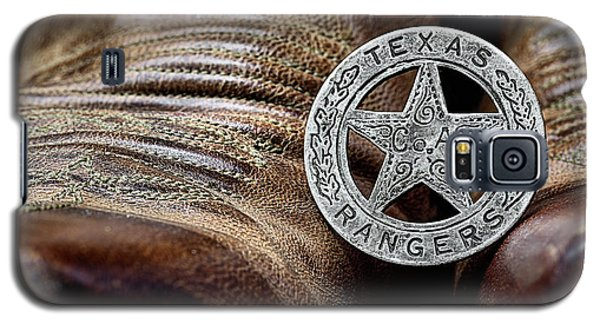 Texas Rangers And Lucchese Boots Galaxy S5 Case