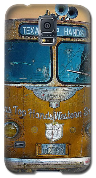 Galaxy S5 Case featuring the photograph Texas Top Hands by Jim Mathis