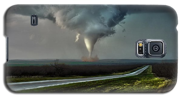 Galaxy S5 Case featuring the photograph Texas Twister by James Menzies