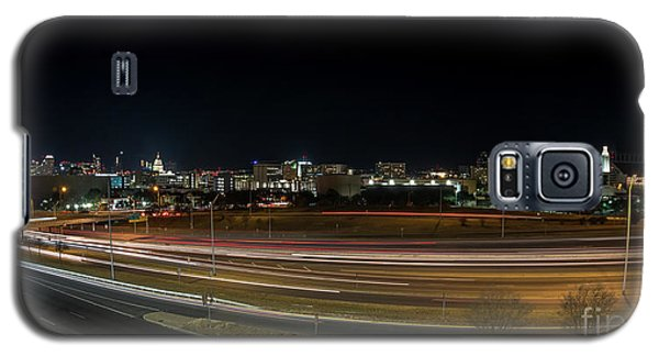 Texas University Tower And Downtown Austin Skyline From Ih35 Galaxy S5 Case
