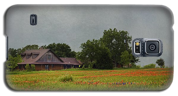 Galaxy S5 Case featuring the photograph Texas Wildflowers by Elena Nosyreva