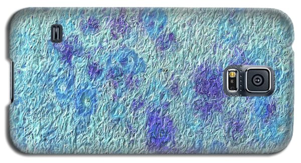 Galaxy S5 Case featuring the digital art Textile ...bloom by Tom Druin