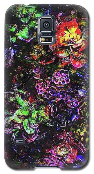 Textural Garden Plants Galaxy S5 Case