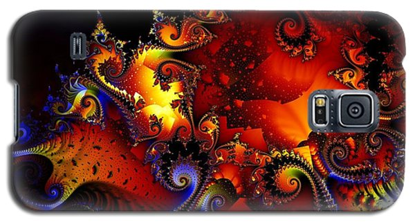 Texture Of Jackolantern Galaxy S5 Case by Ron Bissett