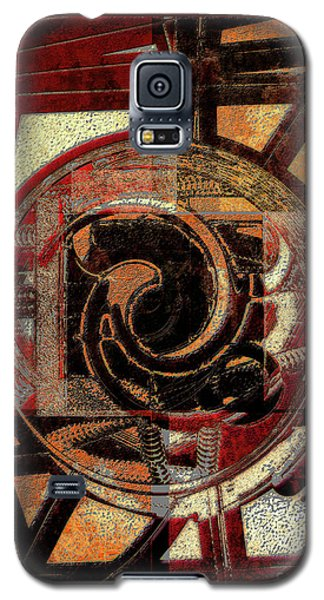 Textured Abstract Galaxy S5 Case