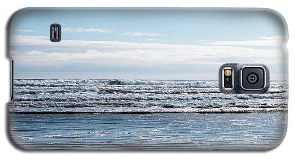 Textured Blues Galaxy S5 Case