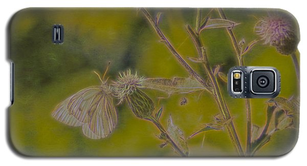 Textured Butterfly 1   Galaxy S5 Case by Leif Sohlman