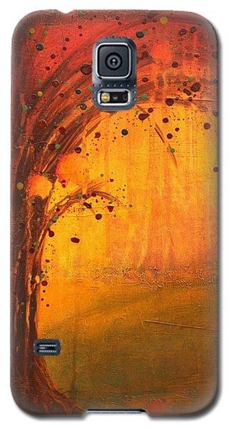 Textured Fall - Tree Series Galaxy S5 Case