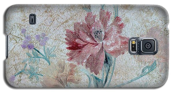 Textured Florals No.1 Galaxy S5 Case