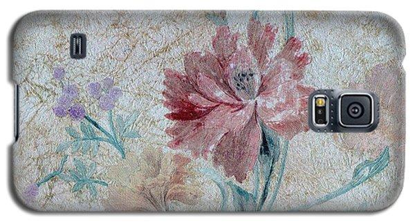 Textured Florals No.1 Galaxy S5 Case