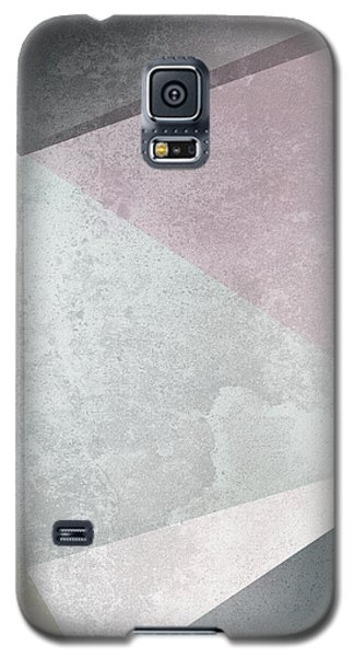 Textured Geometric Triangles Galaxy S5 Case by Pati Photography