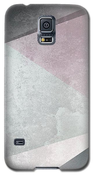 Textured Geometric Triangles Galaxy S5 Case