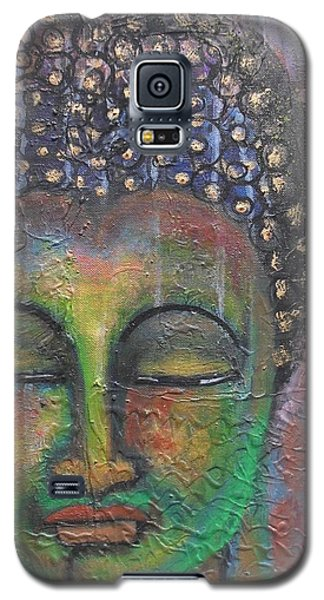 Textured Green Buddha Galaxy S5 Case