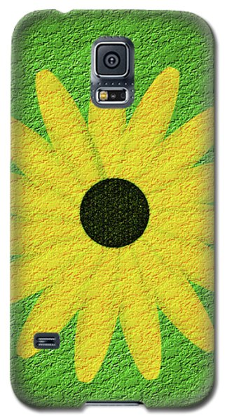 Textured Yellow Daisy Galaxy S5 Case