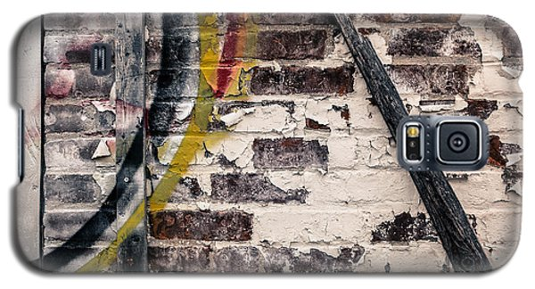 Galaxy S5 Case featuring the photograph Textures Are Talking  by Lora Lee Chapman