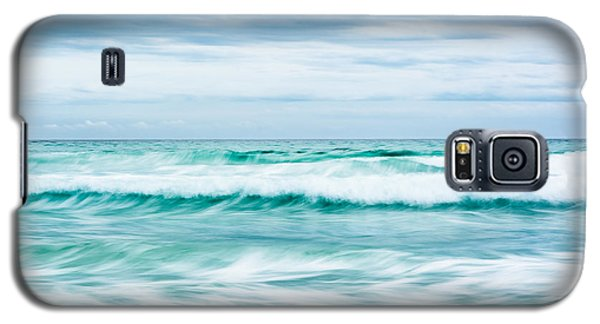 Textures In The Waves Galaxy S5 Case by Shelby  Young