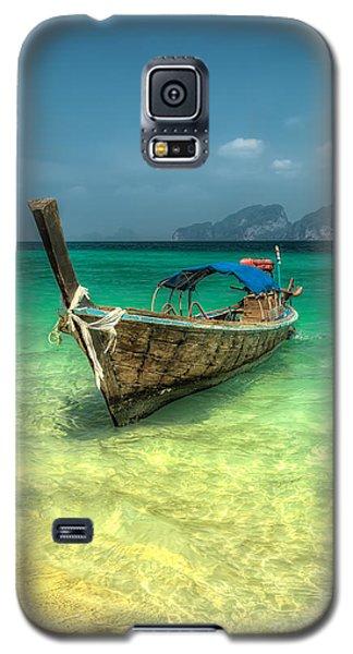 Thai Longboat  Galaxy S5 Case by Adrian Evans
