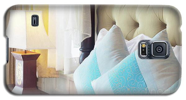Galaxy S5 Case featuring the photograph Thai Style Bedroom by Atiketta Sangasaeng