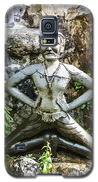 Thai Yoga Statue At Wat Pho Galaxy S5 Case
