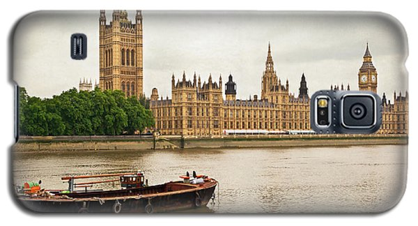 Galaxy S5 Case featuring the photograph Thames by Keith Armstrong