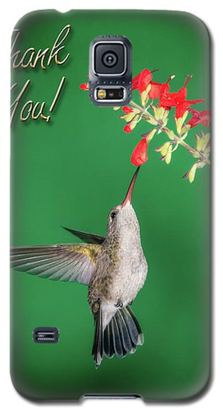 Thank You - Looking Up Galaxy S5 Case