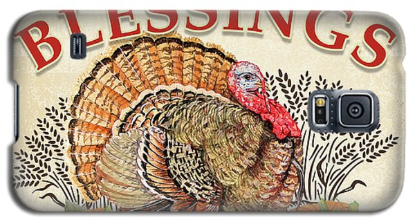 Galaxy S5 Case featuring the painting Thanksgiving-e by Jean Plout