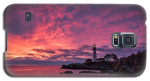 Thanksgiving Sunrise Galaxy S5 Case