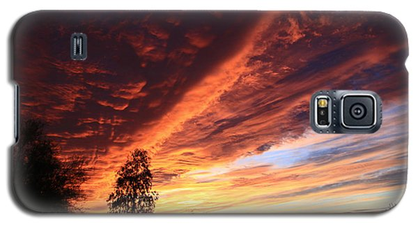 Galaxy S5 Case featuring the photograph Thanksgiving Sunset by Gary Kaylor