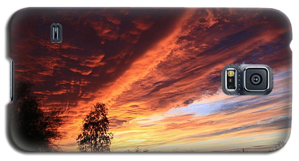 Thanksgiving Sunset Galaxy S5 Case