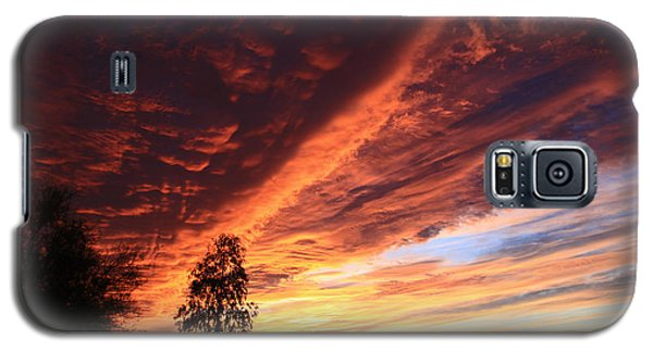 Thanksgiving Sunset Galaxy S5 Case