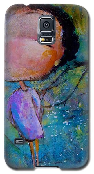 Galaxy S5 Case featuring the painting That Troublesome Issue by Eleatta Diver