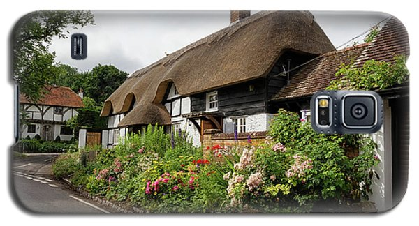 Thatched Cottages In Micheldever Galaxy S5 Case