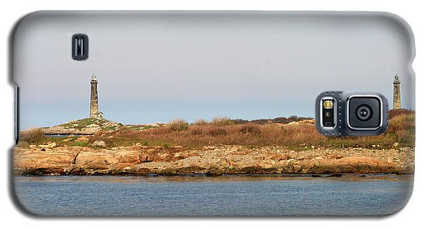 Thatcher Island Twin Lights Gloucester Massachusetts Galaxy S5 Case