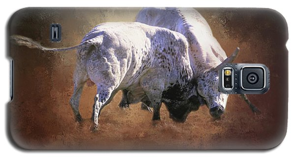 Galaxy S5 Case featuring the photograph That's A Lot Of Bull by Donna Kennedy