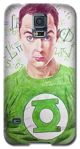 Galaxy S5 Case featuring the drawing That's My Spot by Michael McKenzie