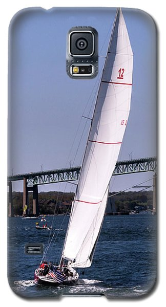Galaxy S5 Case featuring the photograph The 12 Newport Rhode Island by Tom Prendergast