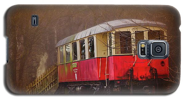 Galaxy S5 Case featuring the photograph The Abandoned Tram In Salzburg Austria  by Carol Japp