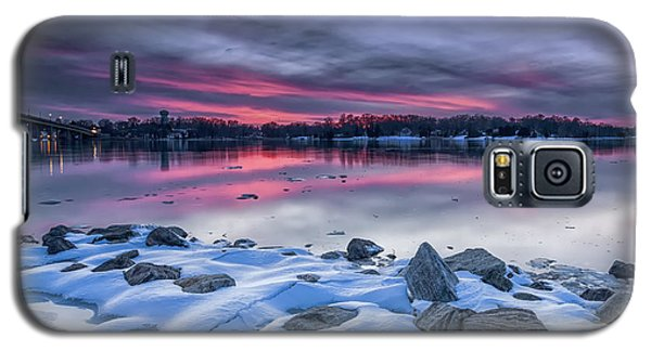 Galaxy S5 Case featuring the photograph The Afterglow by Edward Kreis