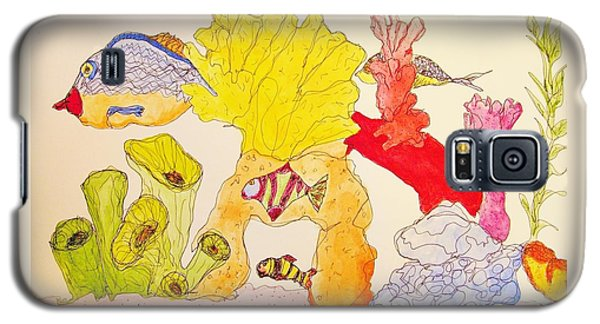 The Age Of Aquarium Galaxy S5 Case by Rand Swift