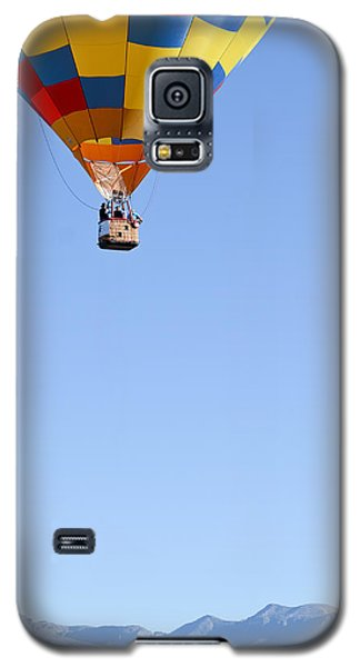 Galaxy S5 Case featuring the photograph The Air Up There... by Kevin Munro