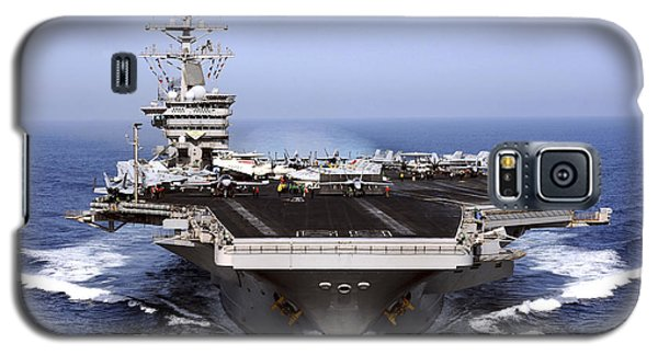 The Aircraft Carrier Uss Dwight D Galaxy S5 Case