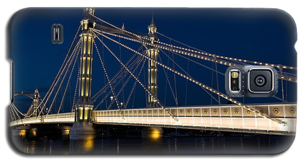 The Albert Bridge London Galaxy S5 Case